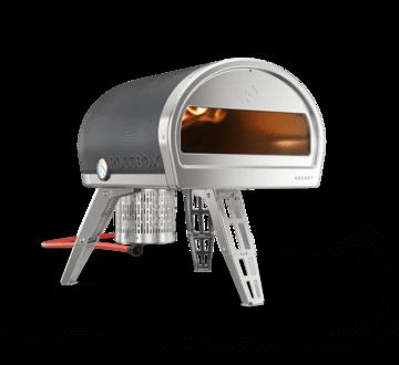 Four à pizza portatif à usage extérieur Roccbox gris pour pizza party, Pizzaeo